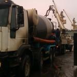 Цена за куб бетона под насос | ленточный фундамент цена в СПб | плита перекрытие | бетонный завод